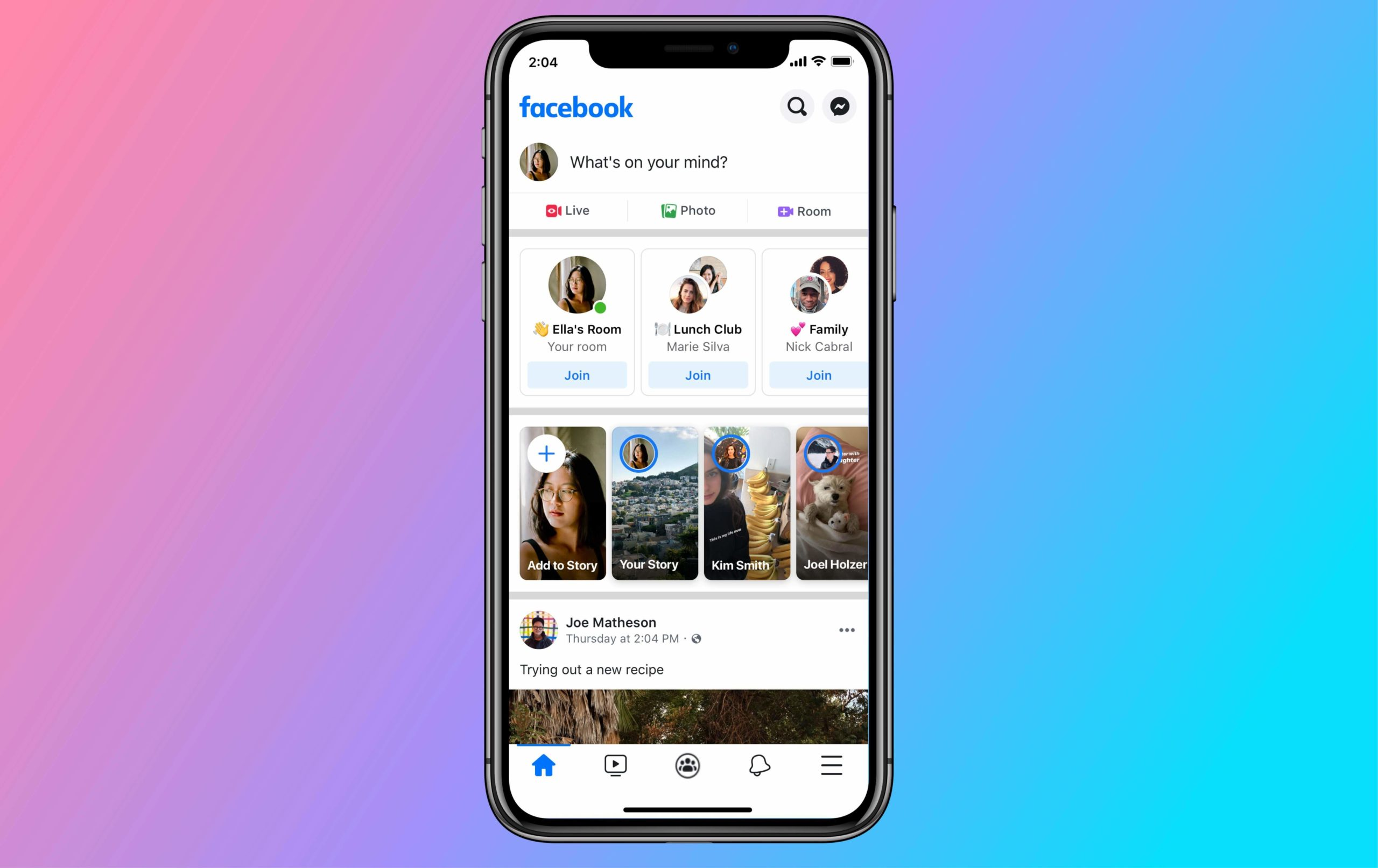 Messenger Rooms e novità videochiamata Whatsapp